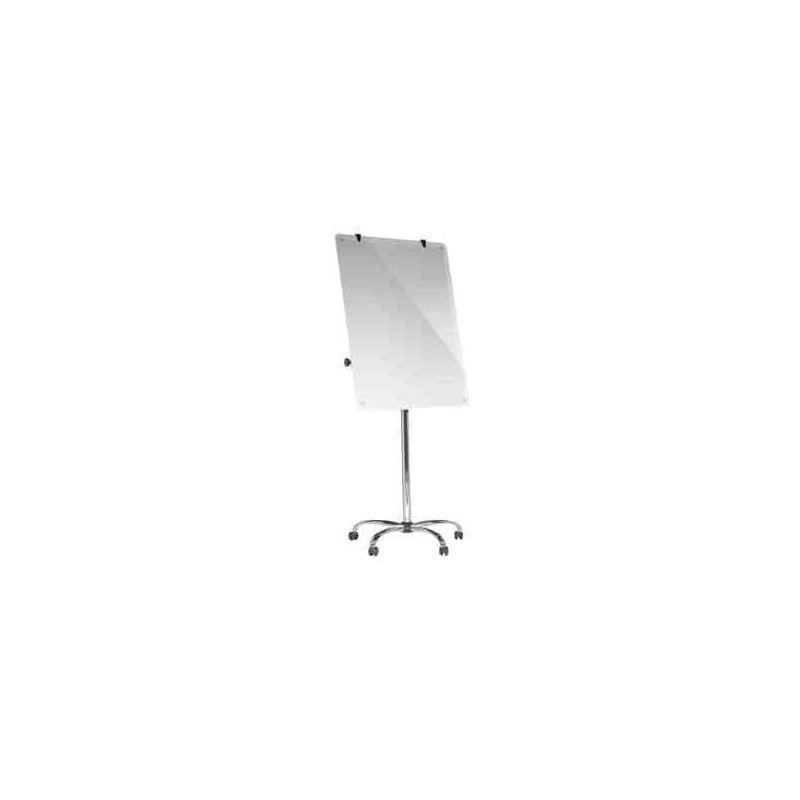 Cavalete Vidro Magnético Com Rodas 70x100cm