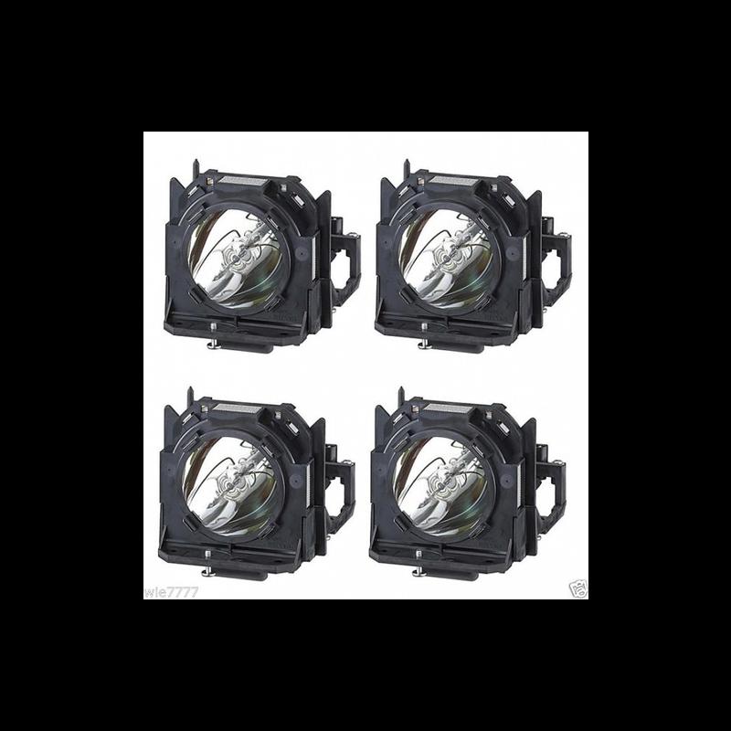 Kit de 4 Lâmpadas Panasonic ET-LAD12KF para PT-DW100/D12000/DZ12000