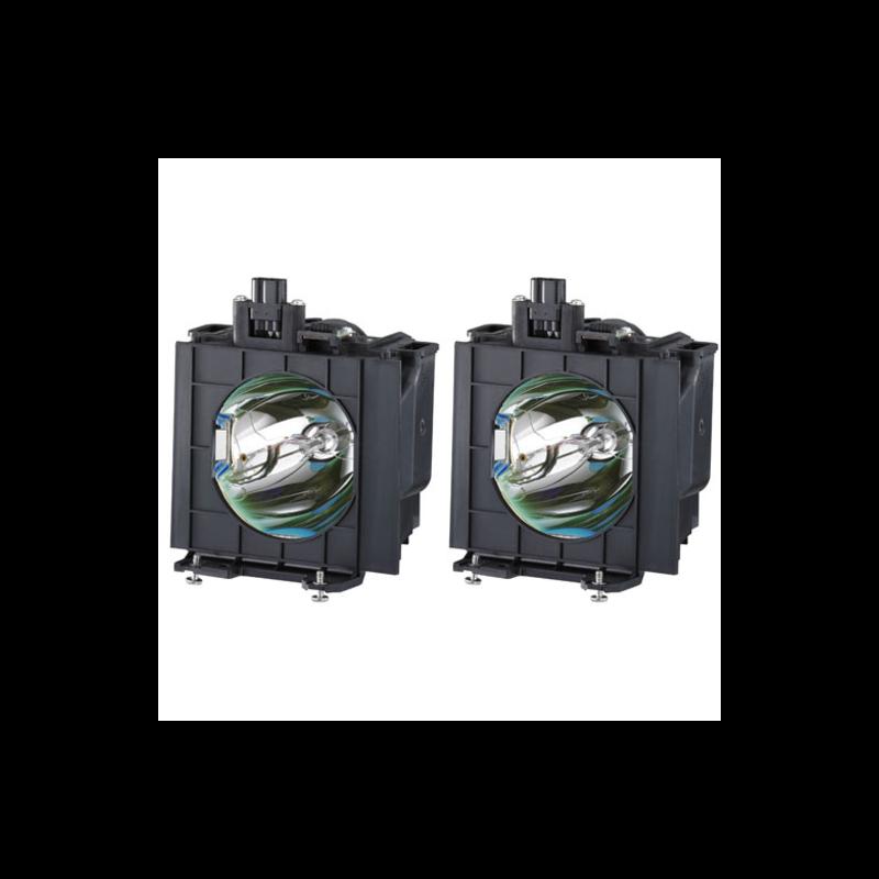 Kit de 2 Lâmpadas Panasonic ET-LAD57W para PT-DW5100/D5700.