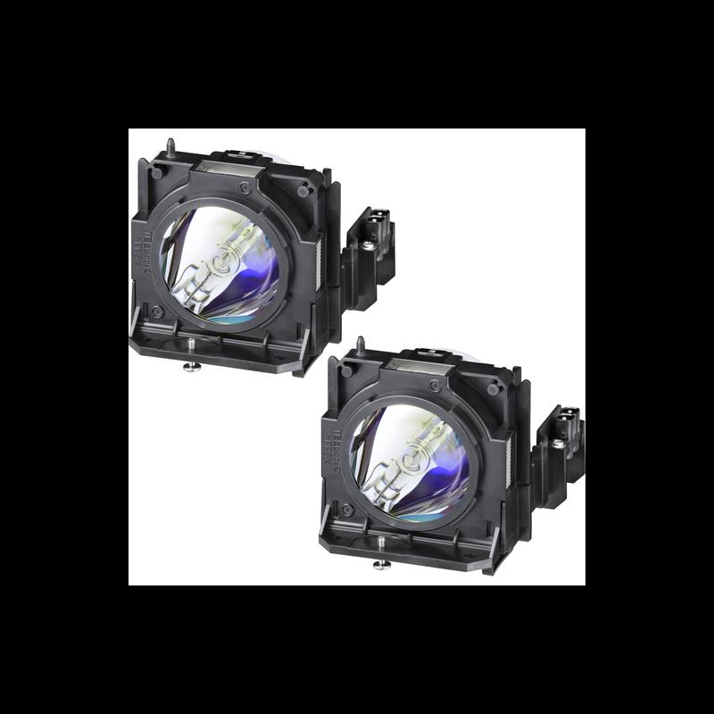 KIT 2 Lâmpadas Panasonic ET-LAD70W para PT-DZ780/DW750 /DX820