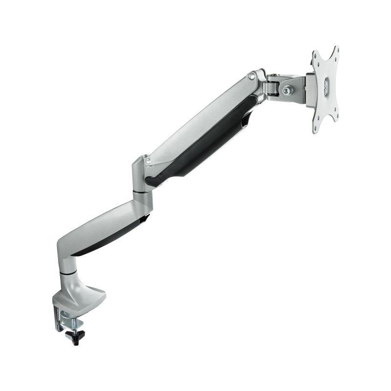 """TooQ DB3032TNR-S suporte de mesa de ecrãs planos 81,3 cm (32"""") Fixação/Aparafusar Prateado"""