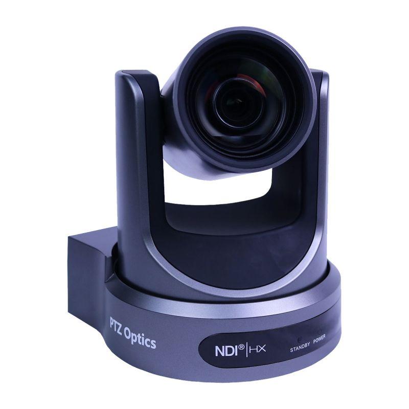 PTZOptics 12X-NDI 1080p Optical Zoom - Gray