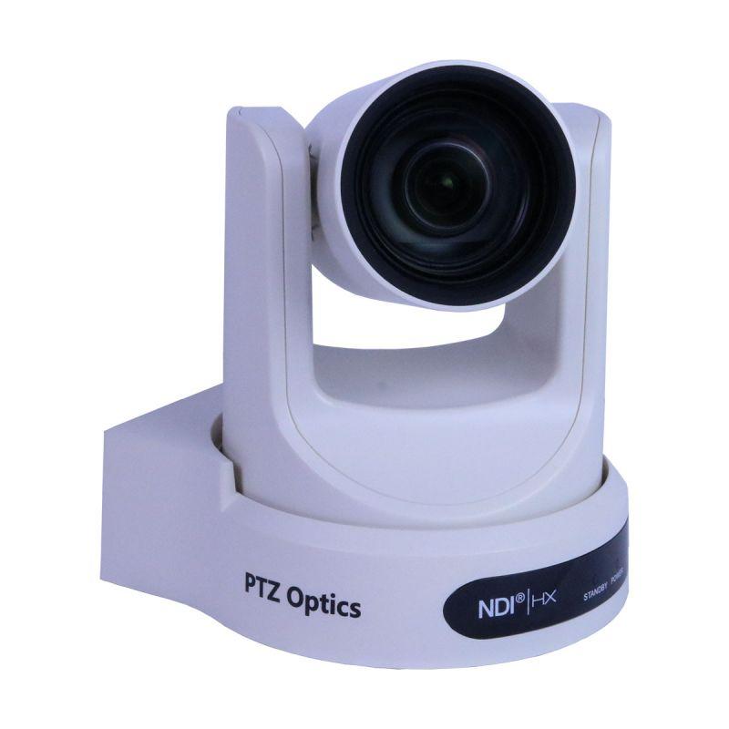 PTZOptics 12X-NDI 1080p Optical Zoom - White