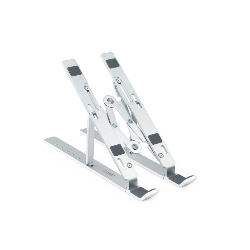 TooQ TQLRS0033-AL suporte de mesa com elevador dobrável para portátil